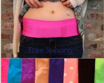 Insulin Pump Bands with no Velcro closure in the pocket for Type 1 Diabetics/The Original Insulin Pump Band
