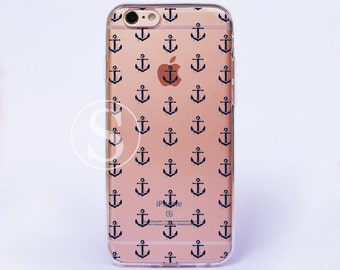 Anchor iPhone Case, Clear iPhone 7 Case, iPhone 7 Plus Case, Clear iPhone 6s Case, Anchor iPhone 6 Case, Clear iPhone 6s Plus Case, SA-17