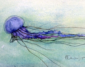 Art Card; Box Jellyfish