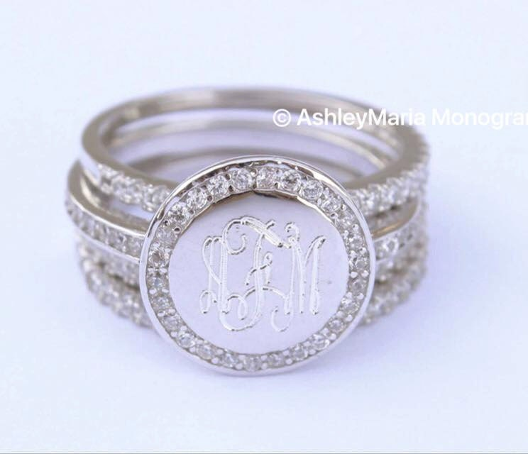 Initials Ring Jewelry