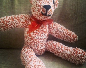 Brian the Bear Hand Knitted Toy