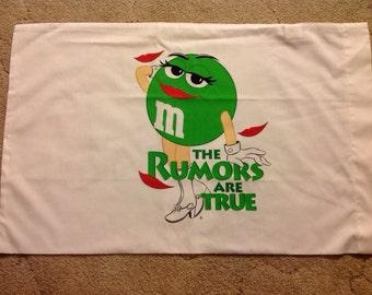 M&M's Pillowcase