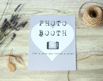 Wedding photo booth, Wedding photo booth props, Wedding photobooth props, Photo booth sign, Wedding ideas, Wedding decoration, wedding signs