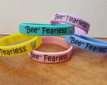 Bee Fearless Wristband