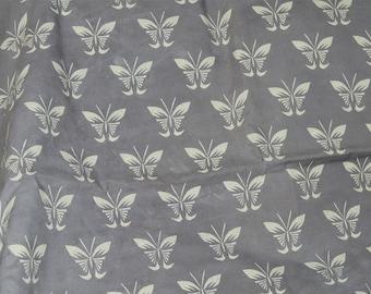 Tribal fabric, Bohemian fabric, Screen Printed Cotton Fabric, Soft Cotton fabric by the yard, India Fabric, Quilting Fabric in brownish grey