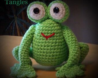 Frog * Amigurumi * Stuffed Animal