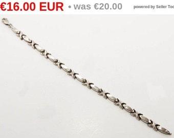winter sales Vintage sterling silver bracelet 7148 19cm.