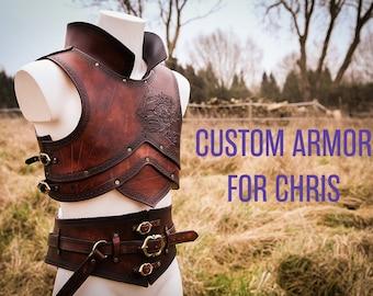 Custom pirate armor for Chris