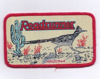 Vintage Arizona Roadrunner Patch