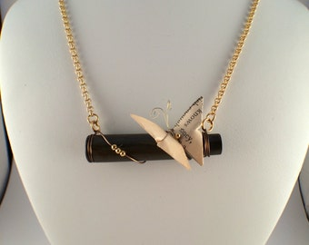 Origami Butterfly on Bullet Casing