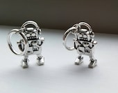 Robo-knitting - set of 4 robot stitch markers
