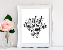 Unique Best Things In Life Related Items Etsy