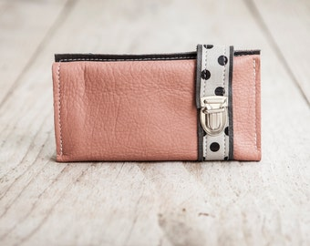 HAEUTE wallet for women, big, real cow leder made in Germany