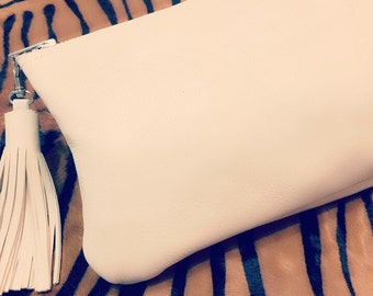 The EveryDay Clutch - Beige