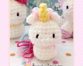 Rainbow unicorn amigurumi, kawaii amigurumi unicorn , cute unicorn plush, unicorn crochet, plush crochet unicorn, rainbow unicorn toy