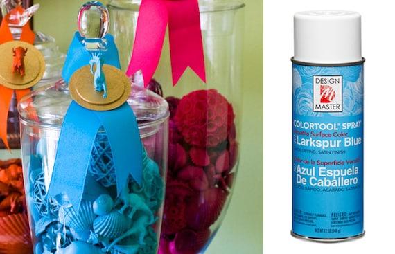 Larkspur Blue Design Master Colortool Spray Paint Craft Spray Inspiration Project Design