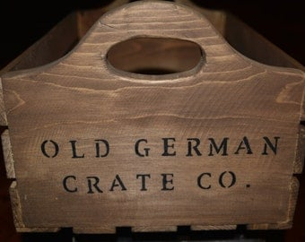 Old German Crate Co. Wood Crate