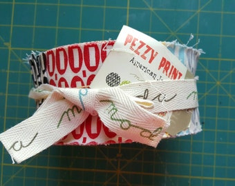 Pezzy Print Jelly Roll by American Jane for Moda, OOP and VHTF