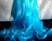 Wig Blue Monster High Ghoulia Yelps Wig Malvina