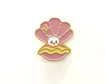 Skull Seashell