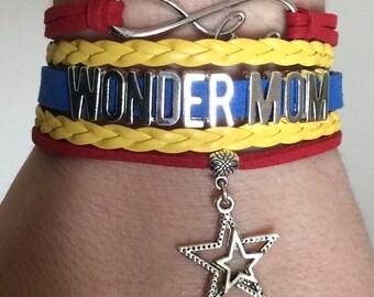 Wonder Mom bracelet - Perfect Mother's Day gift!