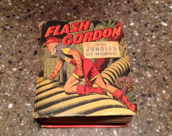 Better Little Book #1424. Flash Gordon in the Jungles of Mongo