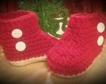 Mum baby boots