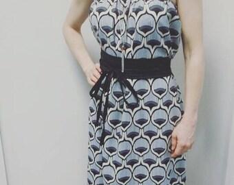 Bra & belt Boho dress