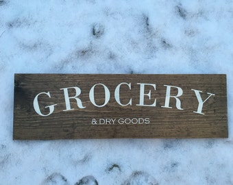 Grocery and dry goods
