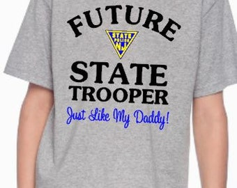 Future New Jersey State Trooper Child's Tee