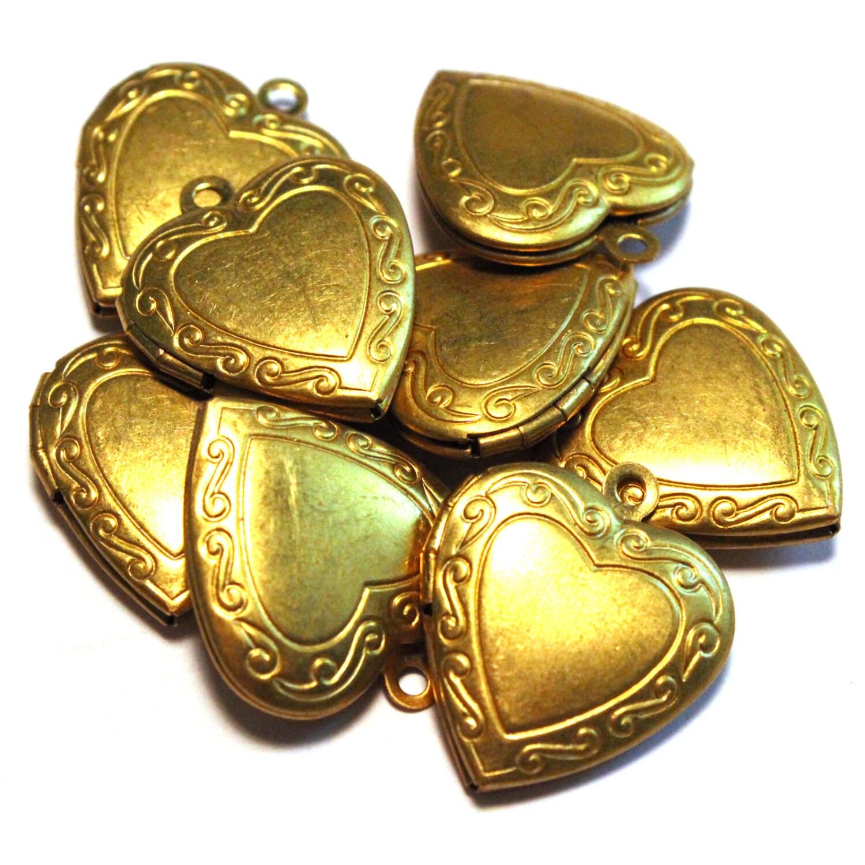 Vintage Brass Lockets 76