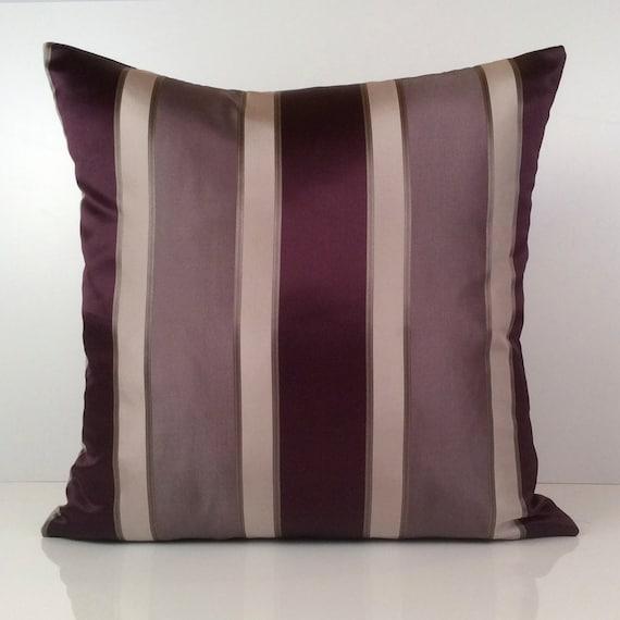 Purple Light Purple Pillow Throw Pillow Cover Decorative