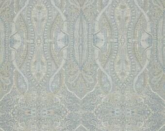 SCALAMANDRE PERSIAN INVERNESS Paisley Wool Jacquard Fabric 10 Yards Aegean Multi