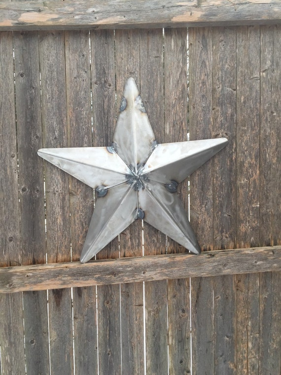 Items Similar To 20 Bare Metal 3d Texas Star Wall Art