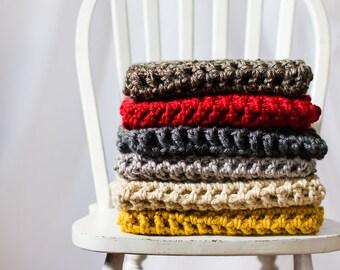 Crochet Infinity Circle Scarf