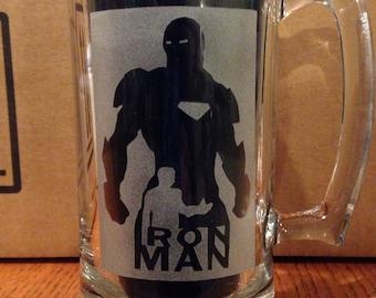 Iron man beer mug