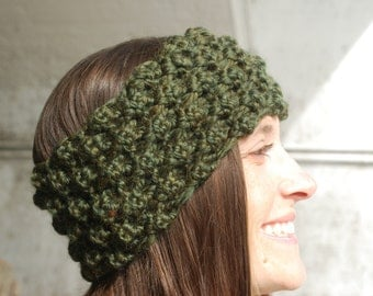Berry Headband- Wool Blend