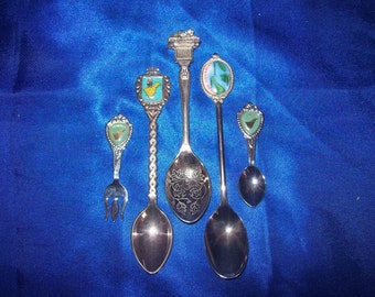 5 Canarie Islands Spoons