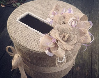 Card box for weddings, showers, hens or other