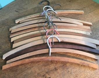 12 Wood Hangers