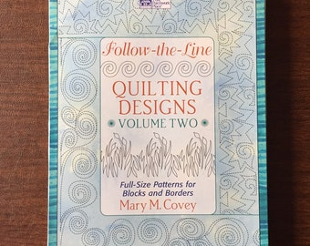 Follow-the-lines quilting designs, Volume II