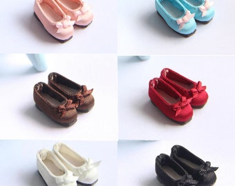 SK Couture Silk Flats shoes for Blythe Pullip Dal Momoko OB21 Azone Poppy Parker