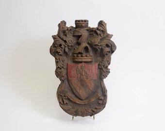 Coat of Arms Wall Decor Shield Knight