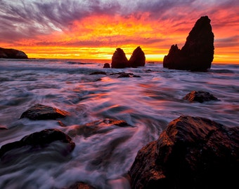 Rodeo Beach Sunset Sausalito Ca
