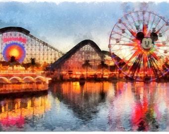 Disney California Adventure - instant download
