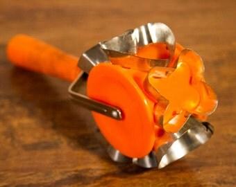 Rolling Orange Cookie Cutter or Dough Cutter