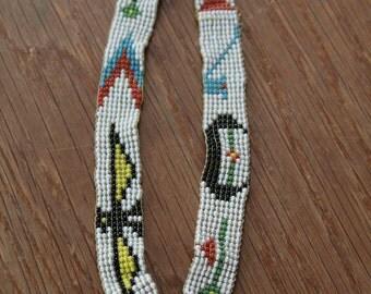 Native American beaded headband