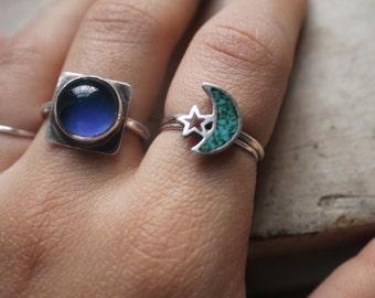 the half moon ring