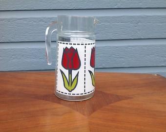 Vintage pitcher Tulip