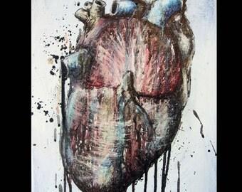 Heart Original Painting